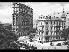 """This tango (Polish title """"To samo niebo"""") was composed by a German composer Joe Rixner (""""Blauer Himmel""""). It was very famous in Europe in last years before Old Pictures, Old Photos, Warsaw City, Pictures Of Beautiful Places, Visit Poland, Vintage Architecture, Big Ben, Tango, Skyline"""