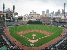 Comerica Park - Home of the Detroit Tigers