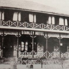 Stanley Hotel 1903 Nairobi Kenya. wow stayed here in. The 70`s, was somewhat more mordern