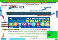 What are widgets? See how your website can use some very interesting widgets  idealisticmarketing.com