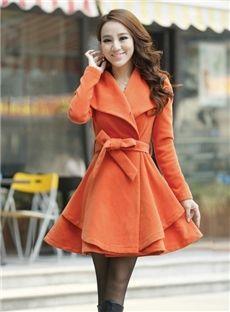 Fashion Vogue Slim Korean Lapel Outwear