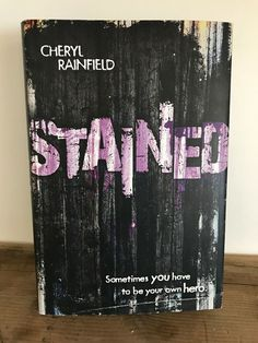 Stained by Cheryl Rainfield Hardcover) 9780547942087 Fiction Novels, Cheryl, Ebay