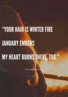 Winter Fire, Vision Of Love, Heartburn, Book Quotes, Book Review, How To Find Out, Novels, King, Books