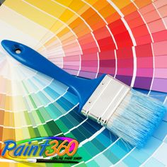 Paint 360 offers you a world of colours to choose from! Come and shop to brighten up your life!