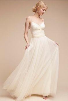 Brautkleid TINSLEY von BHLDN, ca. 270 €,