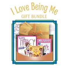 "I Love Being Me - Gift Bundle - Age 4 and up - Encouraging your child to be proud of who they are is a valuable lesson any parent can teach. This bundle can help you get started. -Includes ""Fancy Nancy"" (hardcover book), ""Me, Eloise"" (DVD) and ""Still the Same Me"" (CD). $48.95"