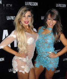 Fiama e Alessandra ensaio sensual