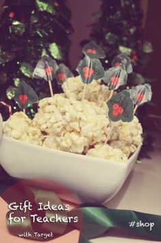 Gift Ideas for Teachers - hot chocolate and a popcorn recipe | grrfeisty: Gift Ideas for Teachers - hot chocolate and a popcorn recipe