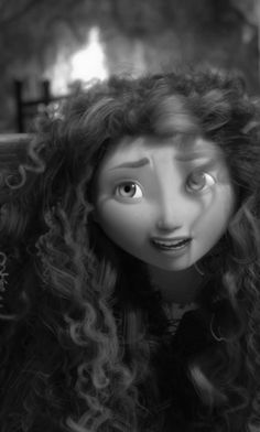 Merida... I like the pic. but I like her better in color... then you can see her awesome hair.