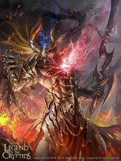 Guerrero dragón legend of the cryptids