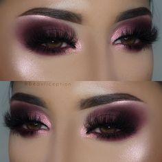 details ultra facial cream primer spray dipbrow in… Smokey Eyeshadow Looks, Eyeshadow Makeup, Pink Smokey Eye, Eyeshadow Ideas, Smoky Eye, Makeup Eye Looks, Beautiful Eye Makeup, Glam Makeup, Beauty Makeup