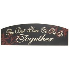 Add a heartfelt and personal message to your home with this sign!