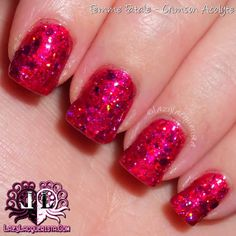 Lazy Lacquerista: AIPAS Weekly Challenge and Aussie Nails Monday :: Femme Fatale Crimson Acolyte