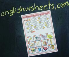 Printable Worksheets For Adults : Teki en iyi esl printable worksheets for kids