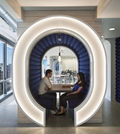PANDORA's office lounge space! AWESOME. #workdifferent