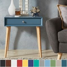 Shop for Marin Danish Modern 1-drawer Accent End Table iNSPIRE Q Modern. Get free shipping at Overstock.com - Your Online Furniture Outlet Store! Get 5% in rewards with Club O! - 19931922