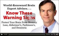 Doctor's Shocking Video Reveals: These 7 Things Trigger Alzheimer's in Your Brain.