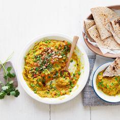 Spiced lentil & coconut dhal