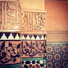 Patterns.   #art #architecture #morocco #marrakech - @camilogaravito- #webstagram