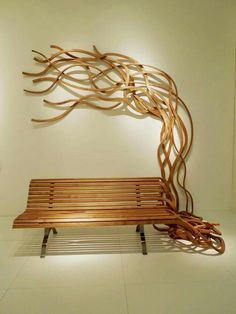 "With his collection ""Bancs Spaghetti"", designer Pablo Reinoso re-invents the conventions of the public benches's design basing on the theme of the ""spaghetti"" pastas."