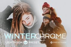 Winterchrome Lightroom Preset Pack by Presetrain Co. on @Graphicsauthor