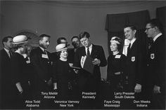 """In 1963 this group of 4-H'ers helped present the """"4-H Report to the Nation"""" to President John F. Kennedy. #4H #CA4H"""