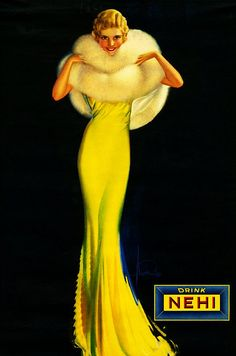 Rolf Armstrong                                                   As they say... A long, tall drink.
