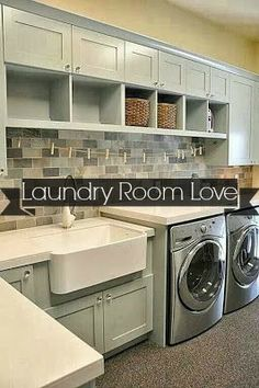 Mmmm, dream laundry room. Would I suddenly enjoy washing clothes? Maybe - I'm willing to find out. #LGatBBC