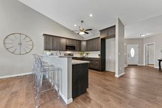 This new construction ranch-style home in Columbia, IL is perfect for young couples or empty-nesters. Home Staging Companies, Young Couples, Ranch Style, New Construction, St Louis, Empty, Columbia, Kitchen, Room