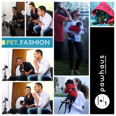 My brother (Conrado) and I had this amazing opportunity for our dog clothing label (www.thepawhausdogapparelcompany.com) to be profiled on Pet Fashion TV last night. Here are some quick shots of us on set. As well as pix of the mini fashion show exhibiting our latest creations (pooch hoodies and matching human long sleeve Ts and hoodies). While this label is still in its infancy we'd still like to thank all who have inspired, believed and guided us to this moment. Episode to air in…