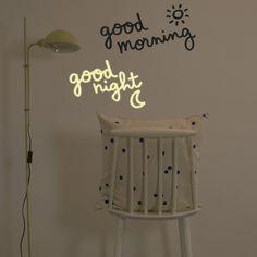 chambre à coucher pépinière Art Mur Citer Autocollant Personnalisé Bébé Goodnight Lune kids