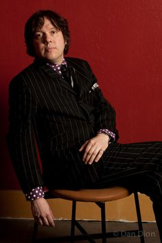 Portrait of comic Dave Hill by photographer Dan Dion