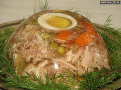Pork legs in jelly (zimne nóżki w galarecie) - Polish appetizer