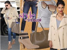 Style Stealer: Jenna Dewan-Tatum Tops It Off With A Trench - The Frisky