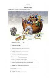 English worksheet: Cambridge test - Starters - YLE - Animals Vocabulary - Part 2