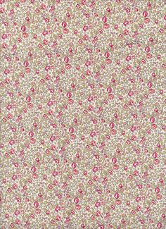 Eloise in Pink Liberty tana lawn fabric 6 x 27 by MissElany, $4.10