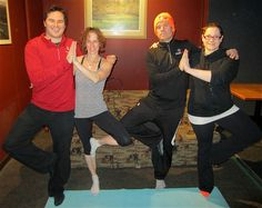 Early Morning Risers Golf and Yoga a natural fit