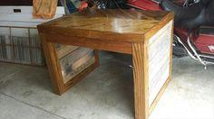 DIY Chic Pallet Desk / Pallet Coffee Table | 101 Pallets