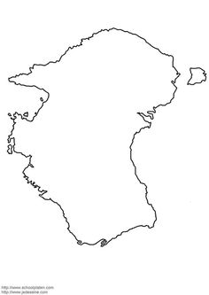 Printable maps of the individual continents. I am going to