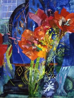 Shirley Trevena uses colour so well