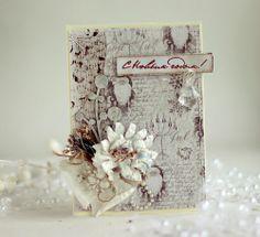 Christmas Card **Maja Design** and **Manor House Creations** - Scrapbook.com