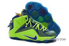 28333024d5c Lebron 12 Ps Elite Green Blue Shoes TopDeals