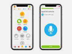 Duolingo Iphone X by Jack Morgan