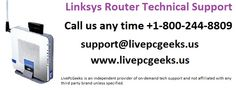 1-800-244-8809 #Linksys #Router #Technical #Support Phone Number