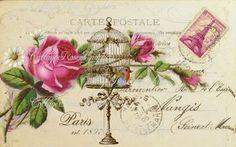 vintage collage postale - Pesquisa Google