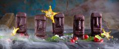 MOAI- шоколадно бисквитный десерт в Кон - Тики