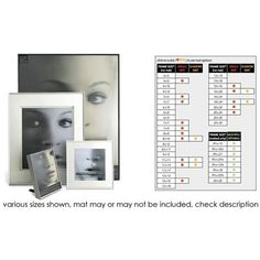 Fineline, Aluminum Frame with a Thin Face for a 5x7 Photograph - Silver