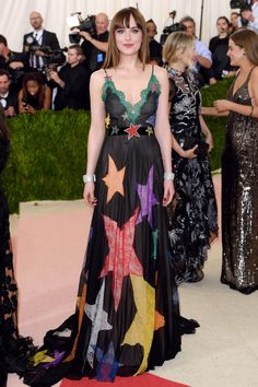 Gucci Gowns on the Red Carpet - Dakota Johnson