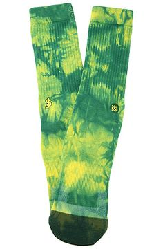 The Shake Junt Socks in Green by Stance Socks