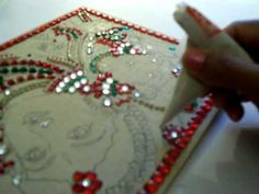 TANJORE PAINTING BOARD MAKING 6